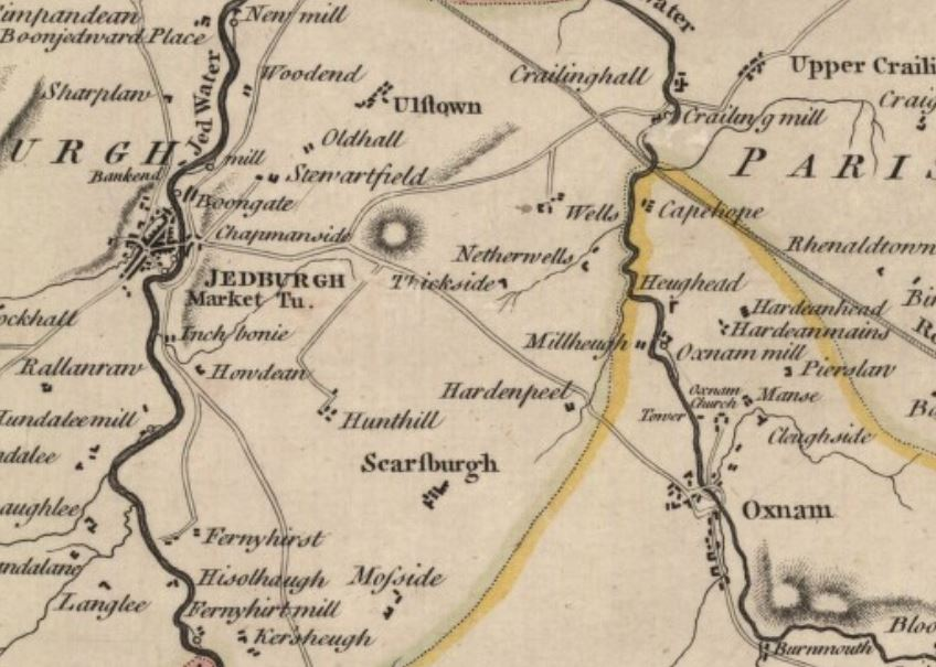 Old maps for family history - Relatively Scottish Butifull The Houses Of Maps on